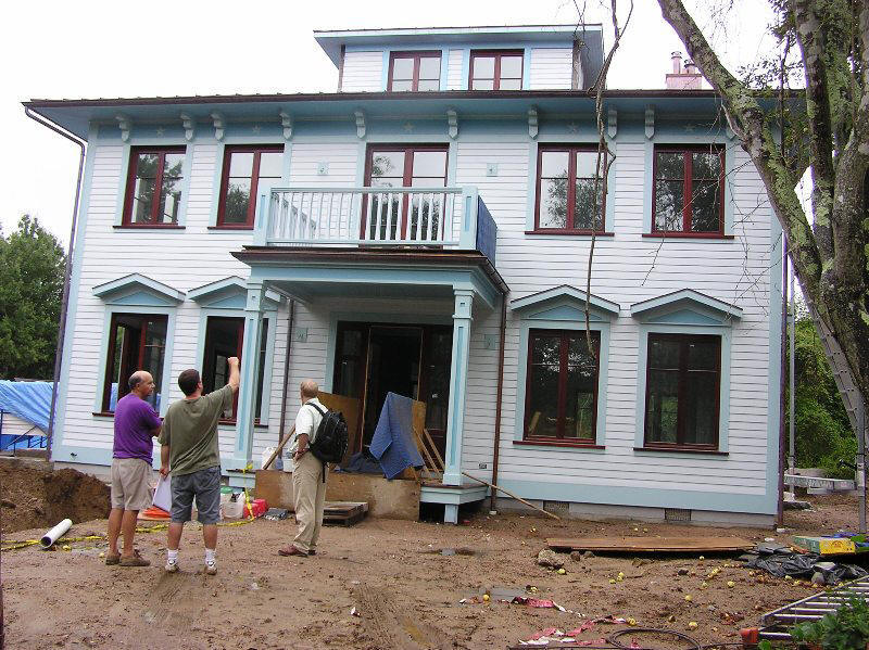 Tepass-Parssinen House, Westerly, RI   Under construction